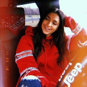 LF zippered sweatshirt